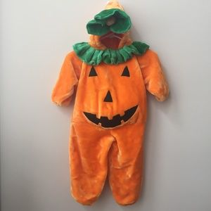Other - Plush Pumpkin Costume Size Small (2/3 Years)